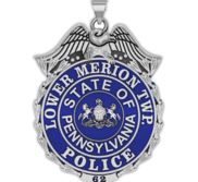 Personalized Lower Merion Township Police Badge with Your Number