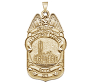 Personalized Pennsylvania Allegheny County Police Badge with Your Rank  Number   Department