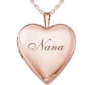 Rose Gold  Nana  Locket