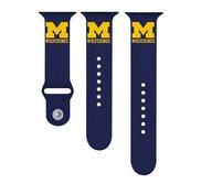 Michigan Wolverines Navy Sport Watch Band   Fits The Apple Watch