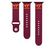 Virginia Tech Hokies Maroon Sport Watch Band   Fits The Apple Watch