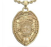 Personalized Minnesota Police Badge with Your Name  Rank  Number   Department