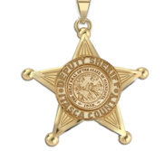 Personalized Minnesota Sheriff Badge with Rank  Number   Dept