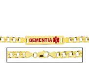 Men s Figaro Link  Dementia  Medical ID Bracelet