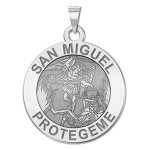 San Miguel Religious Medal   EXCLUSIVE