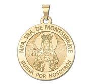 Nuestra Signora de Montserrate Medallas Religousas