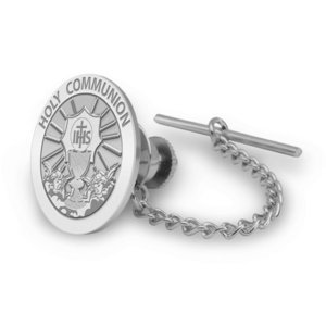 Holy Communion Religious Tie Tack   EXCLUSIVE
