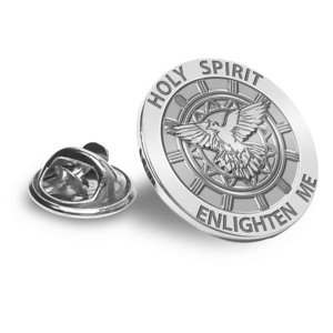 Confirmation Holy Spirit Religious Brooch  Lapel Pin   EXCLUSIVE