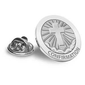 Confirmation Cross Religious Brooch  Lapel Pin   EXCLUSIVE