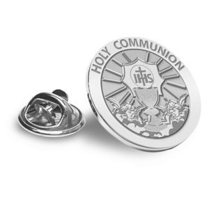 Holy Communion Religious Brooch  Lapel Pin   EXCLUSIVE
