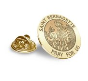 Saint Elizabeth Seton Religious Brooch  Lapel Pin   EXCLUSIVE