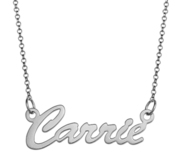 Script Name Necklace without Tail   Includes Chain