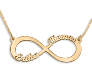 Personalized Infinity Name Necklace with Chain Included