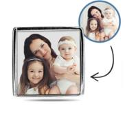 Additional Photo Engraved Square Charm