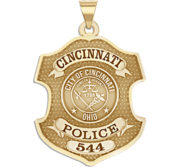 Personalized Cincinnati Ohio Badge with Your Number