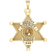 Personalized Snohomish County Washington Sheriff Badge with Rank and Number