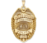 Personalized Missouri Police Badge with Your Rank  Number   Department