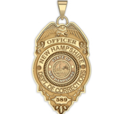 Personalized New Hampshire Departmet of Corrections Badge with Your Rank and Number