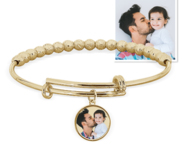 Premium Weight Photo Expandable Bracelet