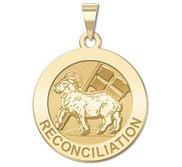 Reconciliation Round Religious Medal   EXCLUSIVE