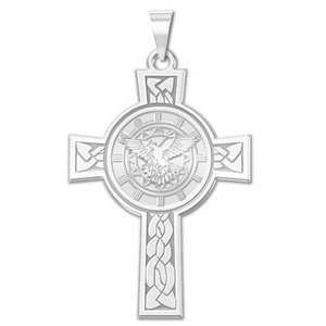 Confirmation Holy Spirit Cross Medal   EXCLUSIVE