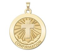 Confirmation Religious Medal    Cross  EXCLUSIVE