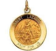 Saint Lazarus Religious Medal