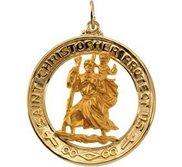 Saint Christopher Religious Medal