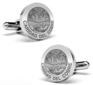 Caridad Del Cobre Stainless Steel Cufflinks