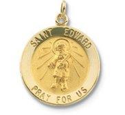 Saint Edward Religious Medal