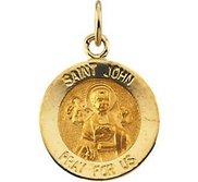 Saint John the Evangelist Religious Medal