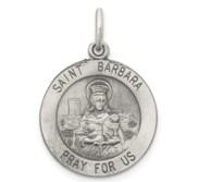 Saint Barbara Religious Medal