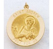 Saint Andrew Religious Medal