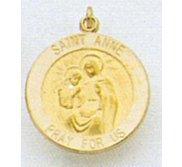 Saint Anne Religious Medal