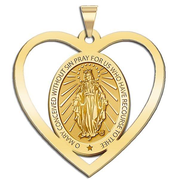 Wundertätige Medaille Geweiht