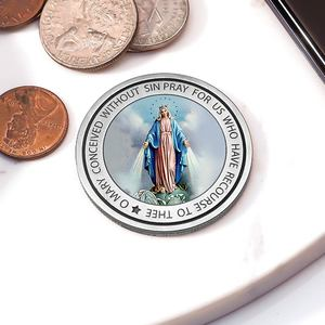 Exclusive Miraculous Medal Pocket Coin   Keepsake