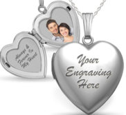 Sterling Silver Valentine s Day Locket Package