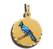 Blue Jay Charm