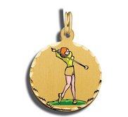 Golf Charm Woman