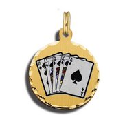 Royal Flush Charm