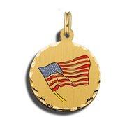Amercan Flag Charm