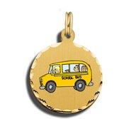 School Bus Driver Charm