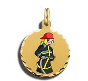 Fireman Charm