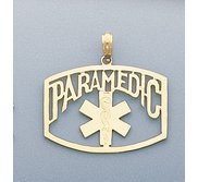 14k Gold Filled Paramedic Charm or Pendant