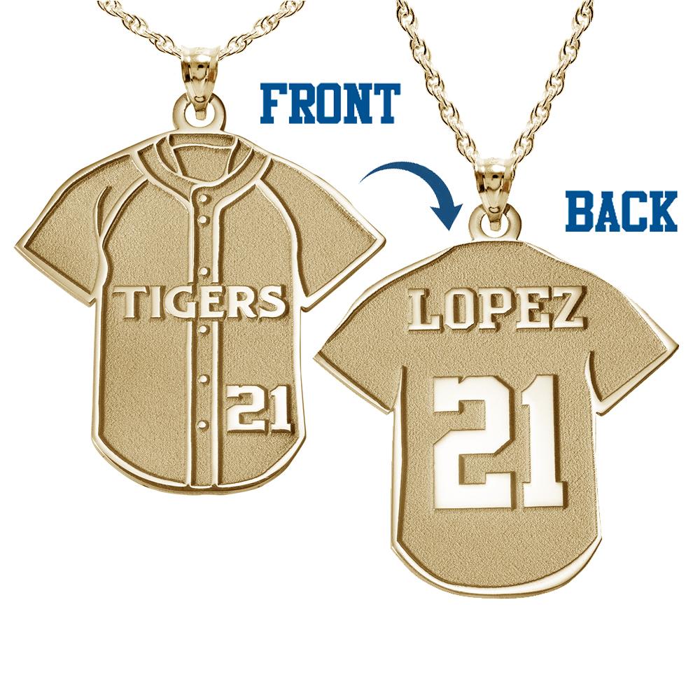 Ice on Fire Jewelry 10k White Gold Baseball Pendant
