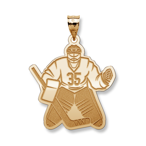 Custom Hockey Goalie Pendant