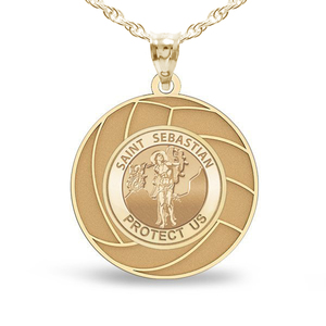 Exclusive Saint Sebastian Volleyball Medal