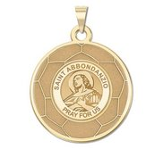 Exclusive Saint Abbondanzio Soccer Medal