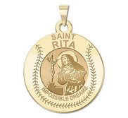 Exclusive Saint Rita Baseball Medal