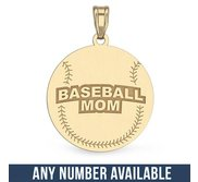 Baseball Mom Pendant